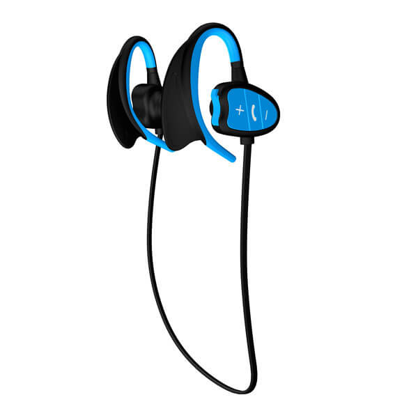 best headphones for running Blue color