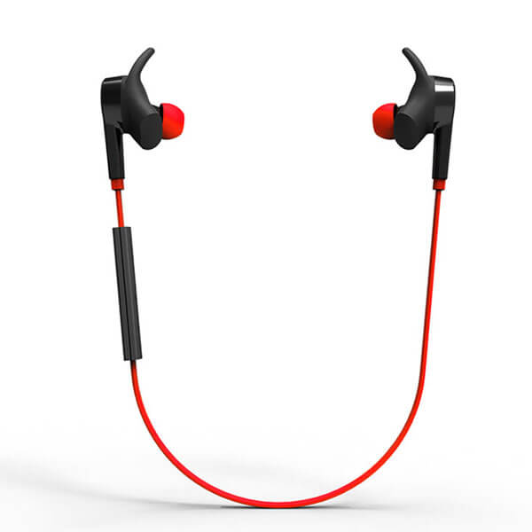 best noise cancelling earbuds full set red color