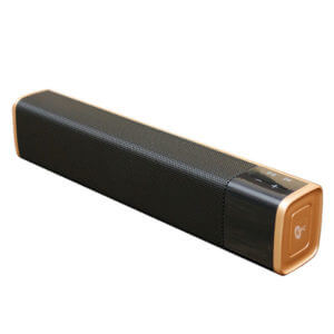 bluetooth speaker suppliers gold and black model side show