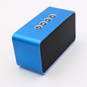 chinese bluetooth speaker blue color
