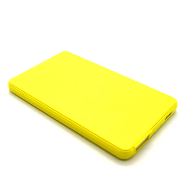 chinese power bank yellow color