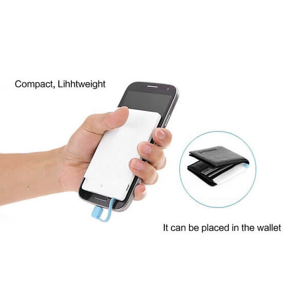 credit card power bank show