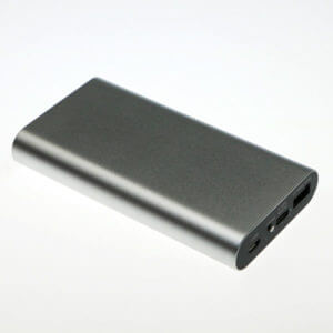 fastest charging power bank grey color usb port