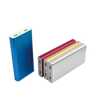 mobile power banks color show