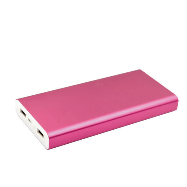 mobile power banks red color