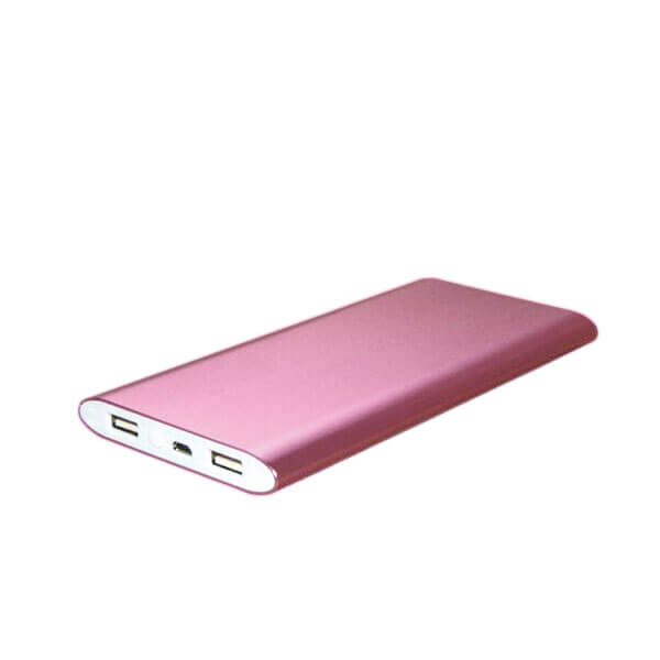 portable power banks red color