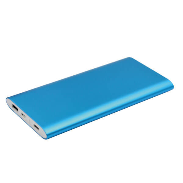 power bank fast charging blue color