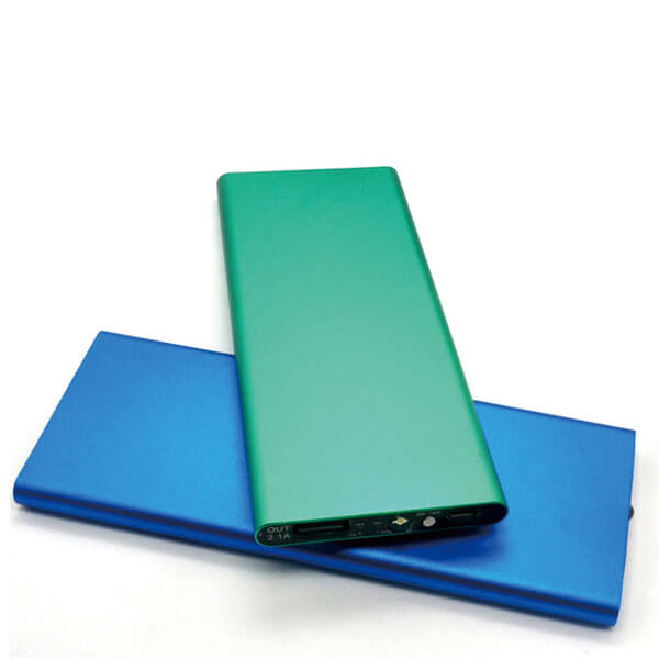 power bank manufacturers green and blue color