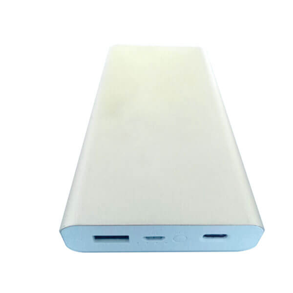power bank offers Sliver color