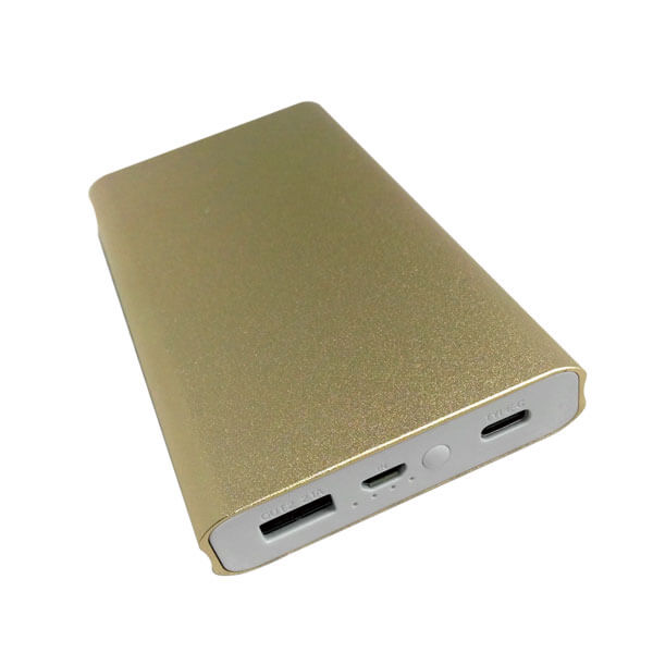 power bank wholesale china gold color