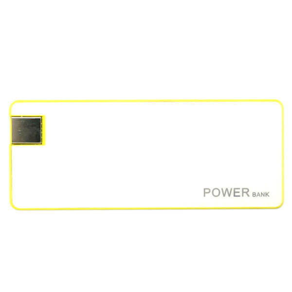 smart power bank Yellow color