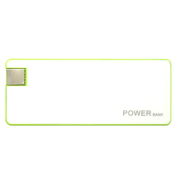 smart power bank green color