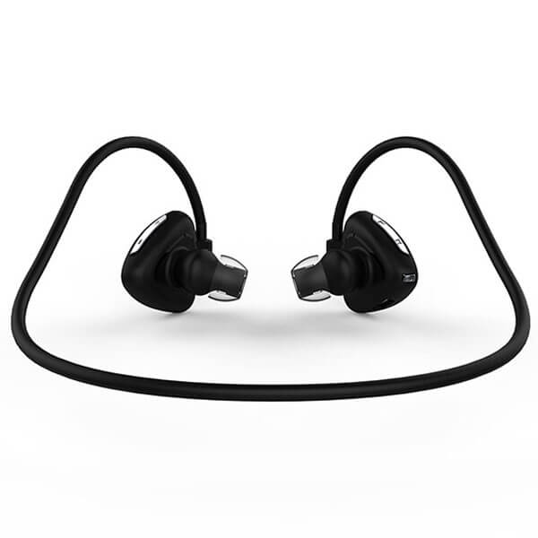 sport bluetooth headphones black color