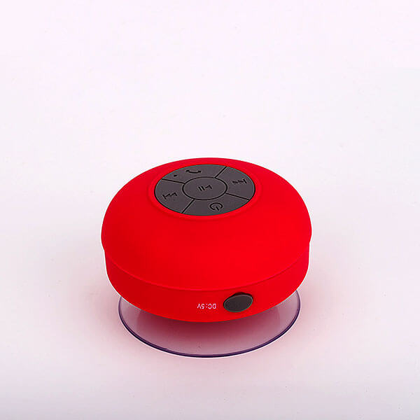 waterproof bluetooth speaker red color