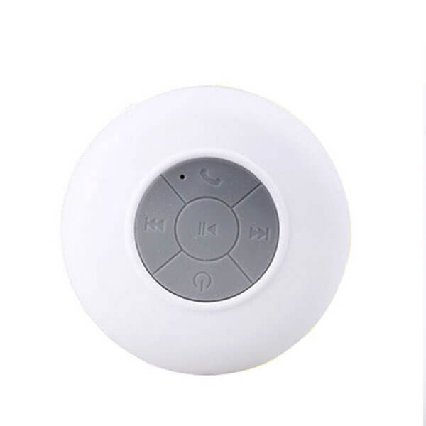 waterproof bluetooth speaker white color