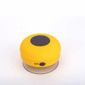 waterproof bluetooth speaker yellow