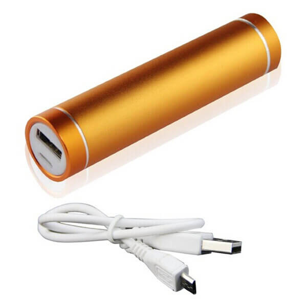wholesale power banks Gold color