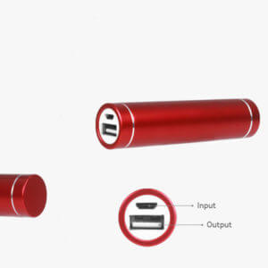 wholesale power banks red color
